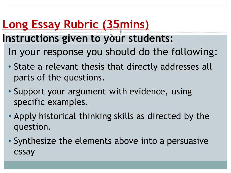 essay examples free