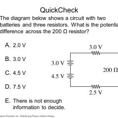 Resistor Circuit Diagram 1964 Dodge Dart Wiring Chapter 23 Circuits Topics Sample Question Ppt Video