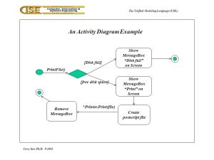 The Unified Modeling Language (UML)  ppt download