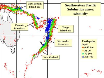 Major tectonic systems operating during the past 200 My ...
