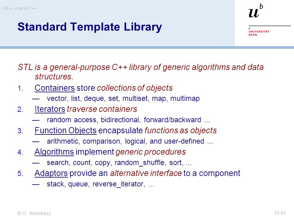 10 A Bit Of C Ppt Download