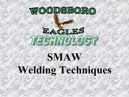 Pipe Welding Techniques Smaw