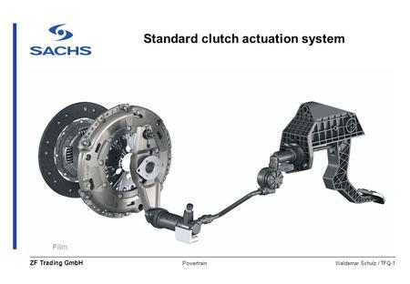 Clutch Basics manual adjust / lube ZF Sachs Twin Extend