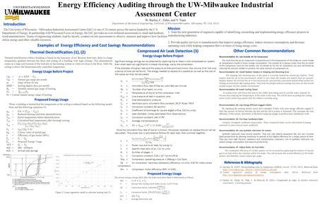Energy Efficiency Analysis Gerdau