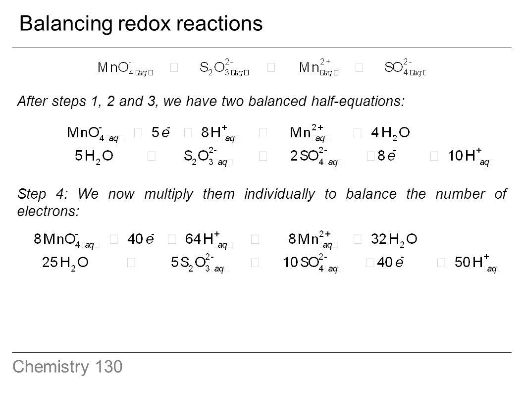 Redox Worksheet Redox Reactions