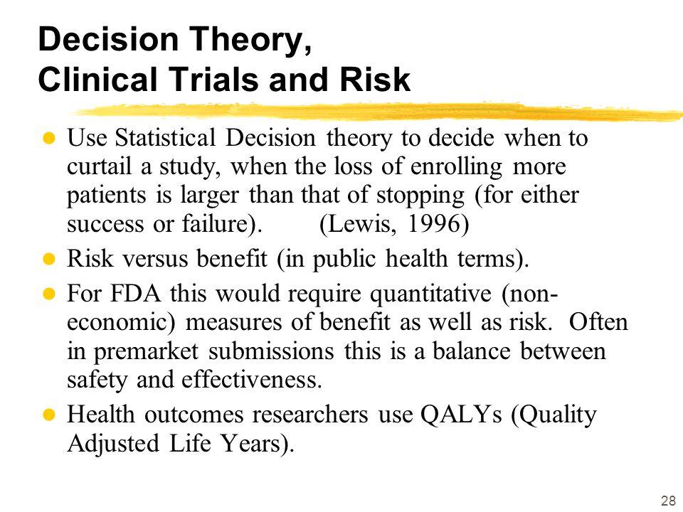 Greg Campbell, Ph.D. Director, Division of Biostatistics