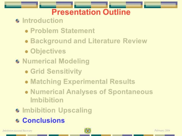 Imbibition Assisted Recovery ppt video online download