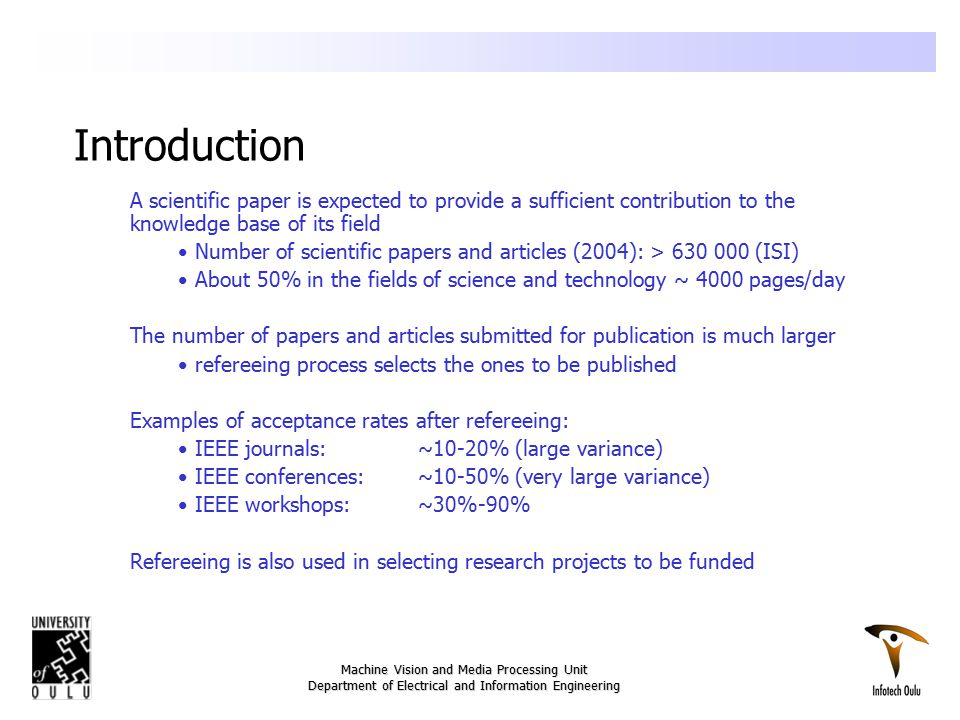 The Peer Review Process And The Task Of A Referee Ppt Video Online
