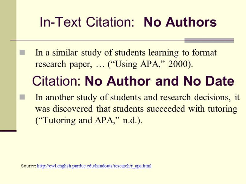Apa referencing newspaper article without author