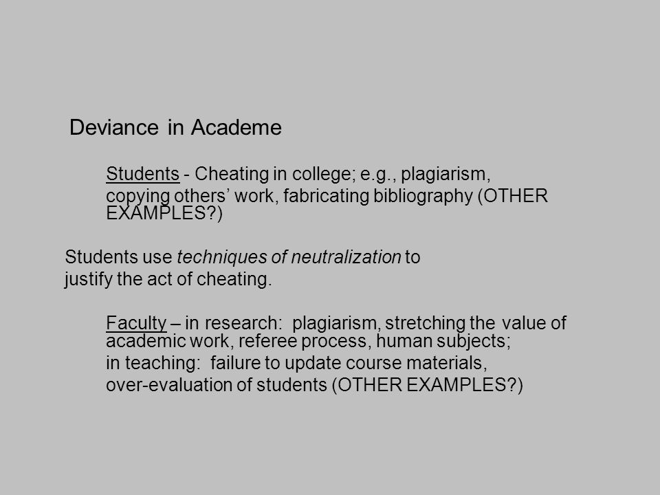 Deviance Why Is It Important To Study Social Deviance? Ppt Download