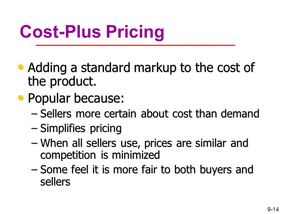 Chapter 1 Pricing Considerations and Strategies  ppt download