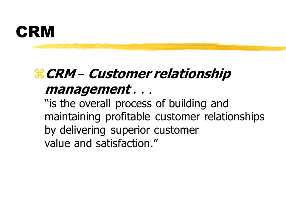 Customer Relationship Management for Pepsico Inc