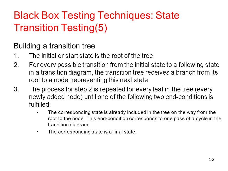 state transition testing example diagram ford 8n 12 volt conversion wiring test design techniques - ppt download