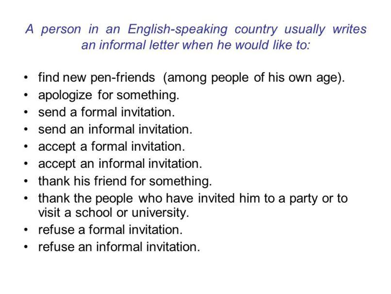 Formal and informal invitations in english invitationjpg formal letters personal ppt online stopboris Gallery