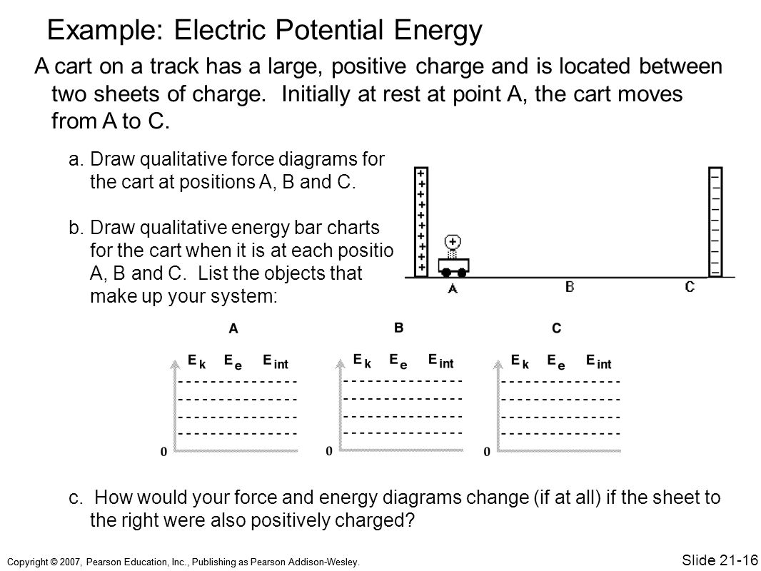 energy bar diagram examples stewart warner temp gauge wiring chapter 21 electric potential topics sample question
