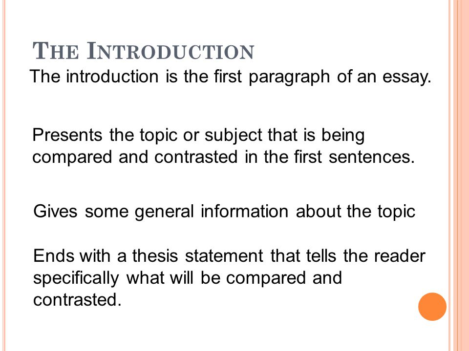 Comparison and Contrast Essays  ppt video online download