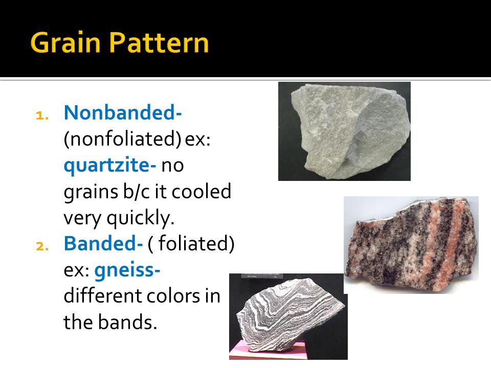 Types Of Rock Ppt Video Online Download