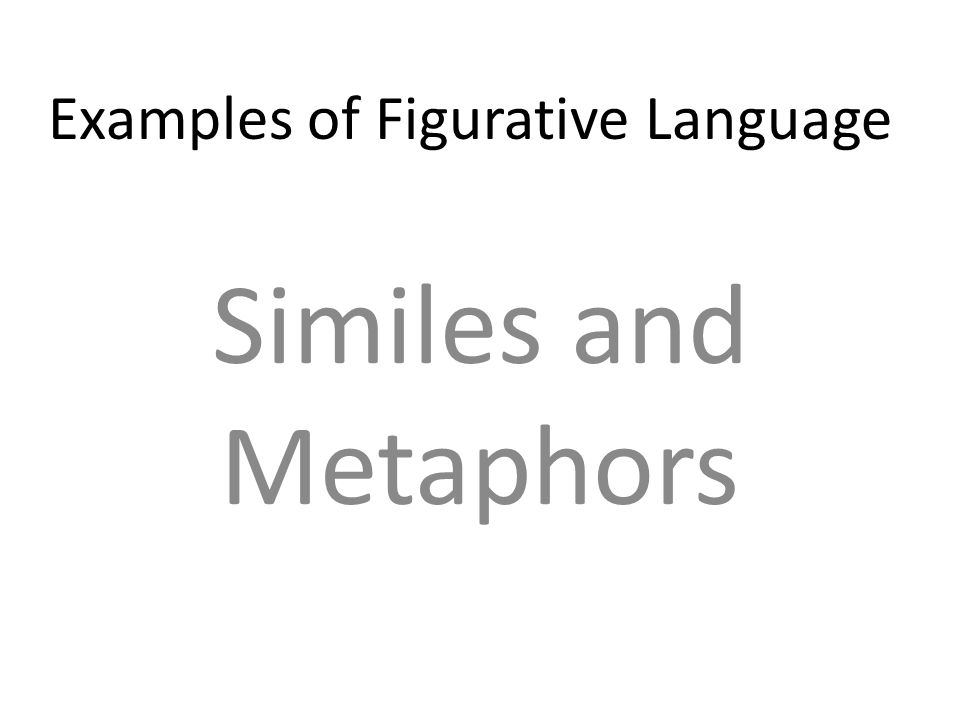 AIM: Identify and use the literal and figurative meanings