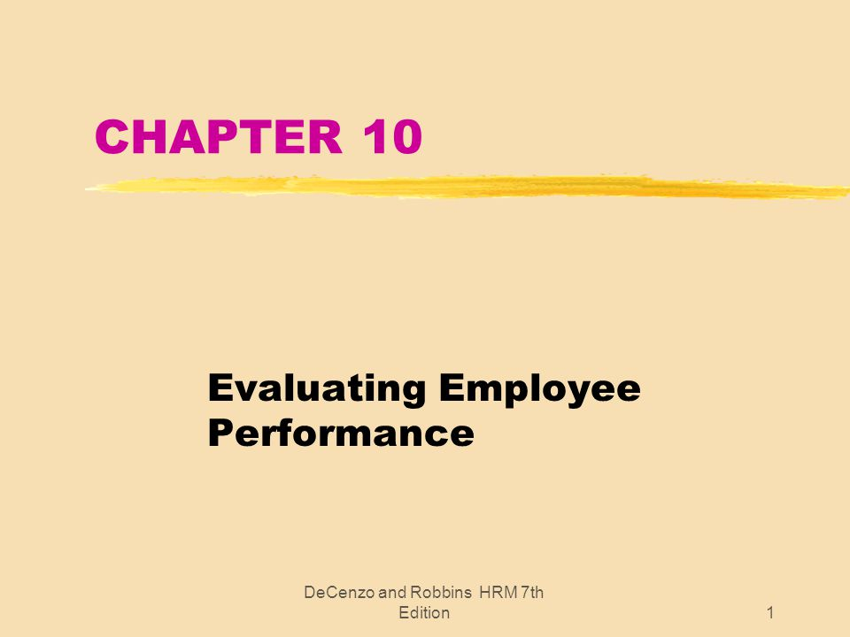 Purpose Employee Evaluation Conducting The Performance ~ Evaluating ...