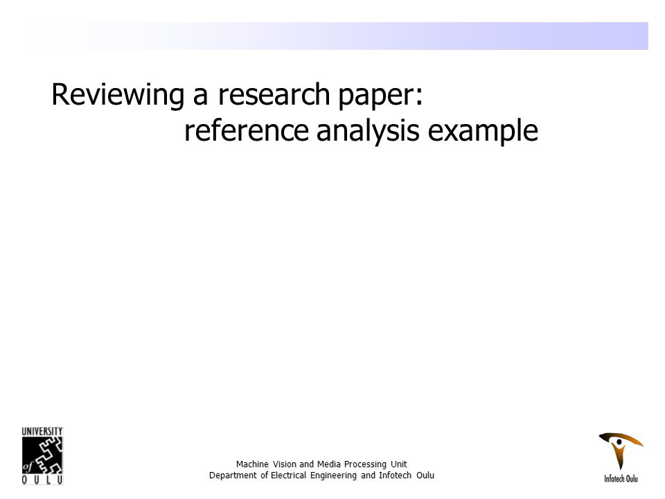The Peer Review Process And The Task Of A Referee Ppt Download