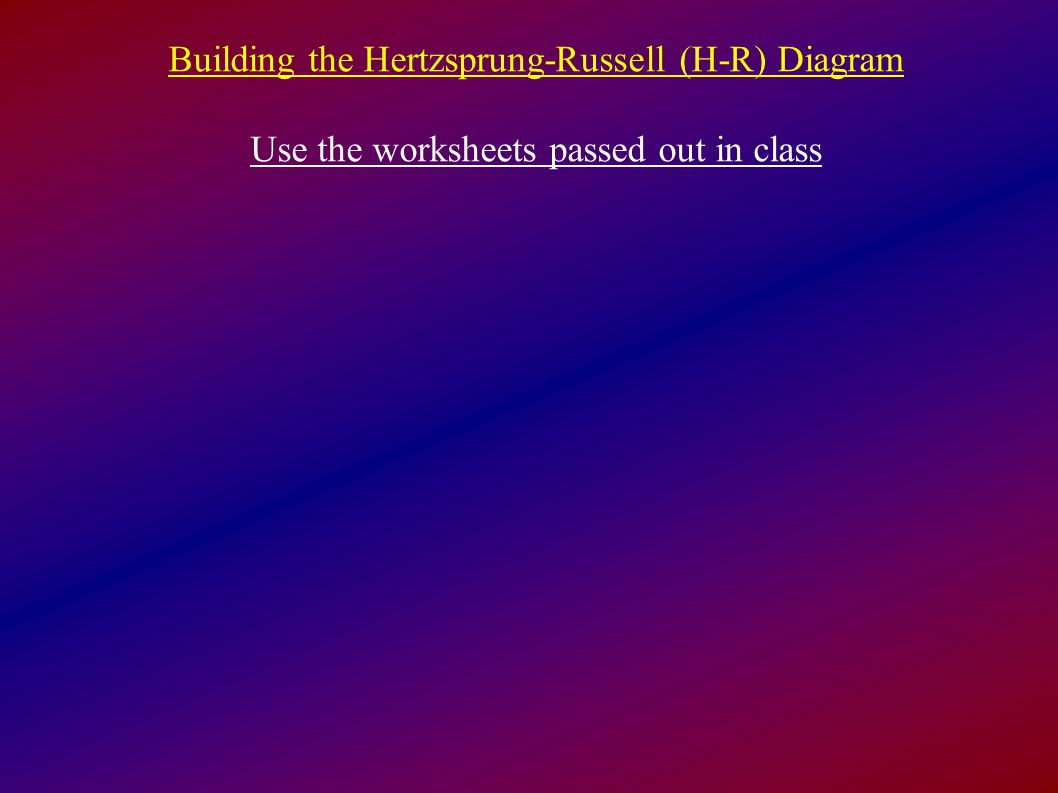 Worksheet Hertzsprung Russell Diagram Worksheet Grass