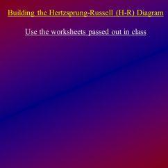 Hr Diagram Student Guide Answers Bt Phone Socket Wiring Worksheet Hertzsprung Russell Grass