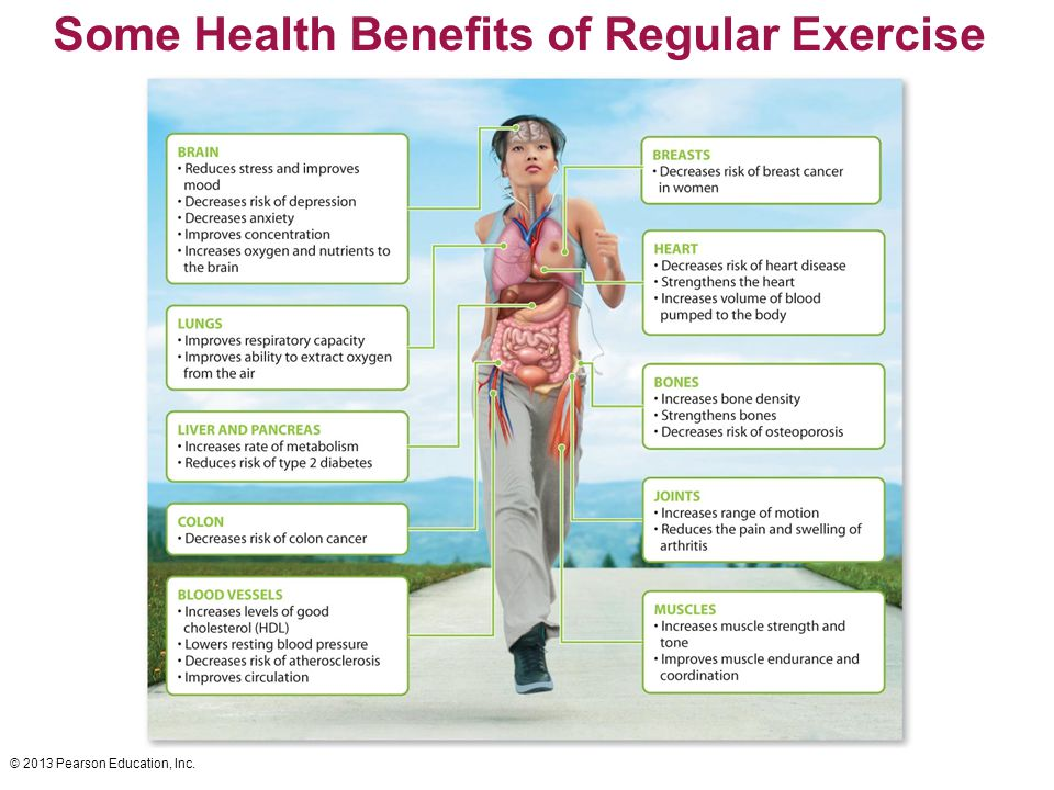 benefits of regular exercise Want to feel better, have more energy and perhaps even live longer look no further than exercise the health benefits of regular exercise and physical activity are.