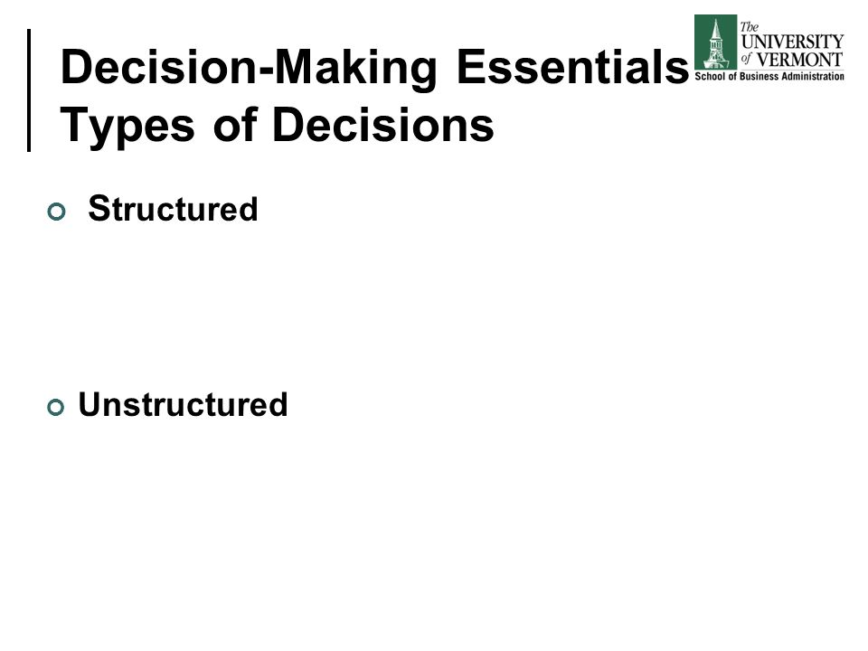 Organizational Decision-Making and Process Management (BPM