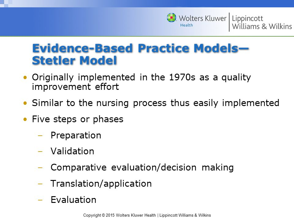 Chapter 12 Evidence Based Practice And Nursing Theory Ppt Video