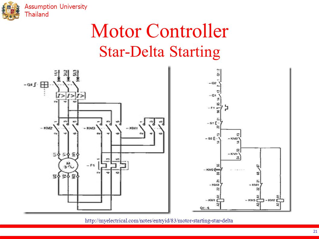Electrical Contactor Wiring Diagram 5 Star Delta Starter Control