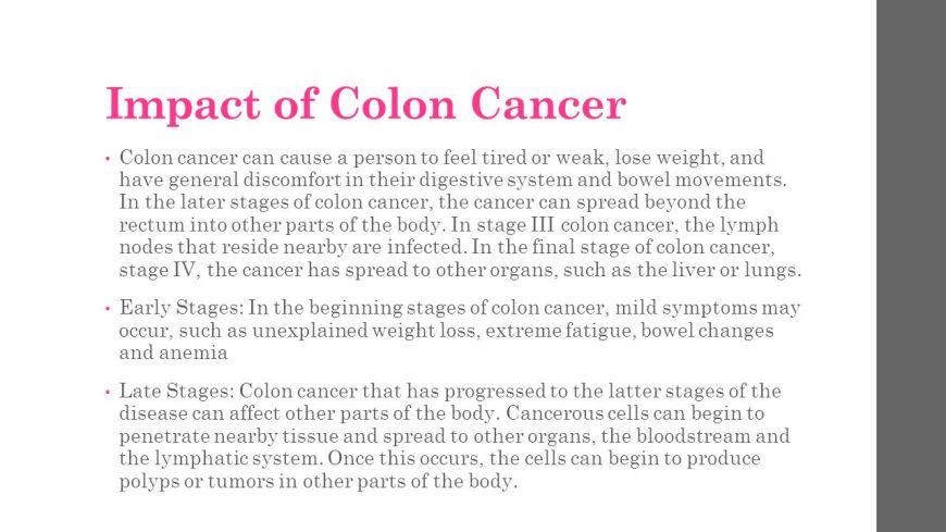 Colon Cancer Spread To Liver