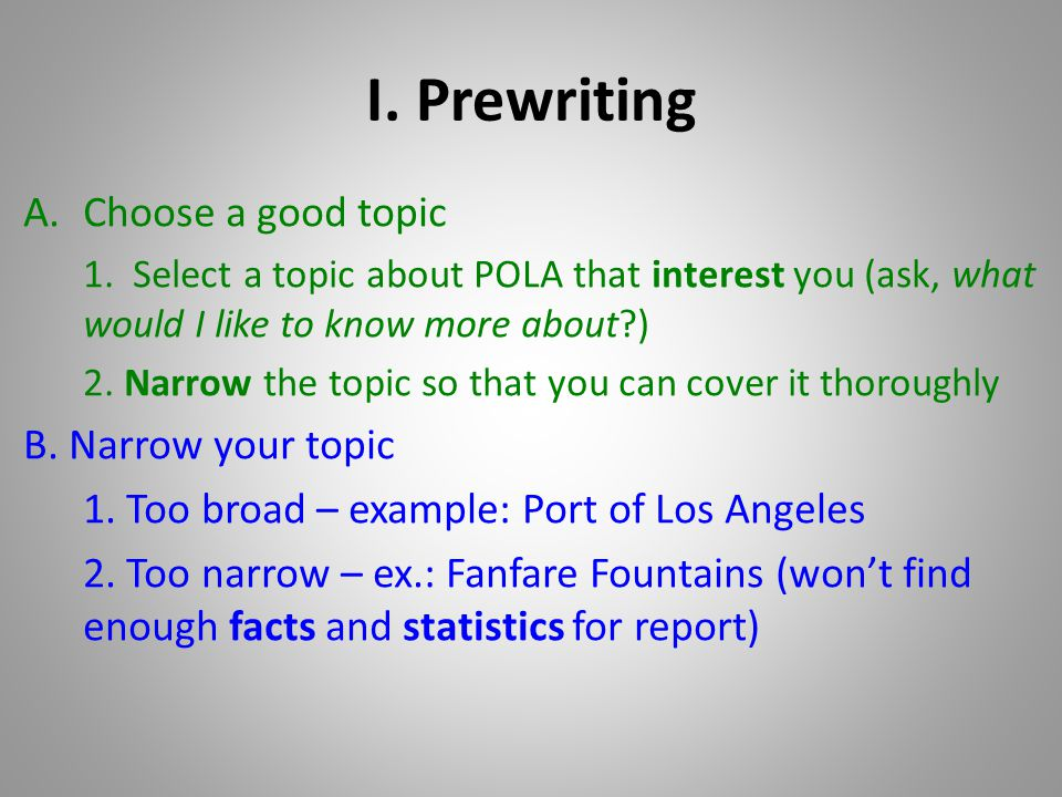 RESEARCH PAPER Port Of Los Angeles Ppt Video Online