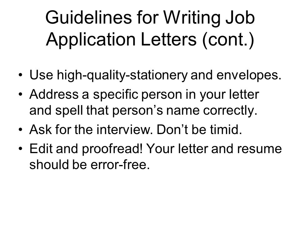 How Do You Spell Resume On A Cover Letter