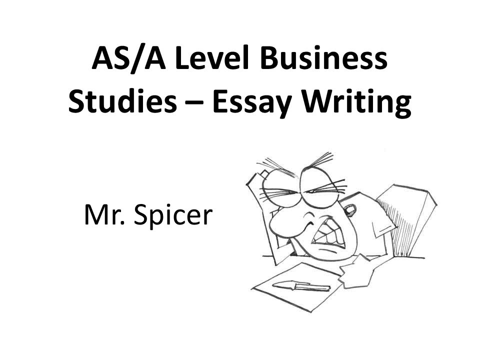 AS/A Level Business Studies