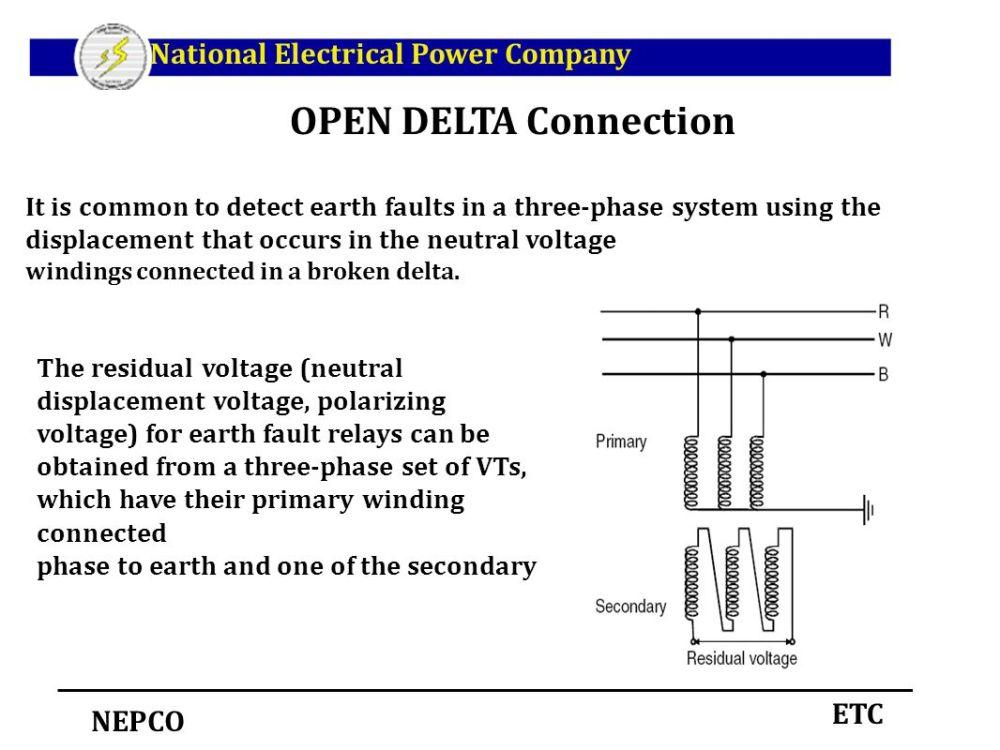 medium resolution of open delta wiring diagram 1 wiring diagram source open delta transformer connection diagram acme open delta wiring diagram