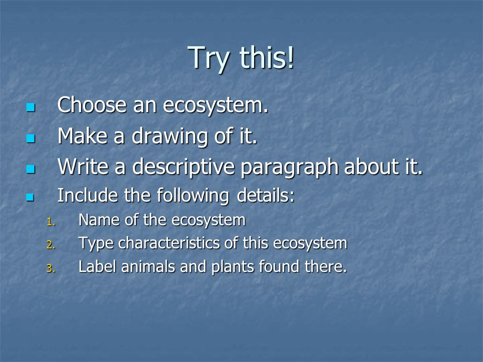 WHAT ARE ECOSYSTEMS  ppt download