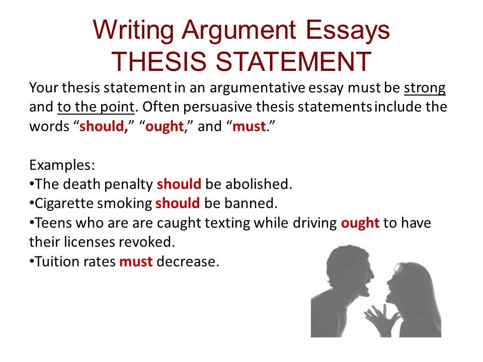 Ch 11 Reading and Writing Argument Essays  ppt download