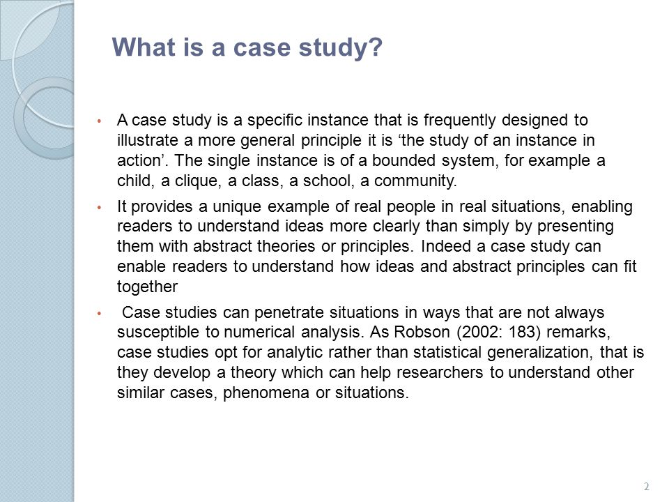 Case Study Research Dr Ayaz Afsar Ppt Video Online Download