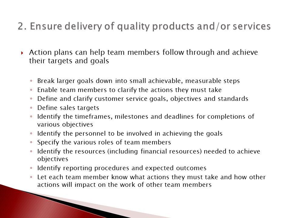 Quality Management Teams