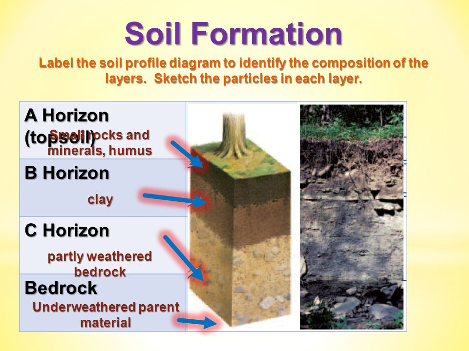 horizon diagram soil formation 05 chevy equinox wiring weathering chapter ppt video online download