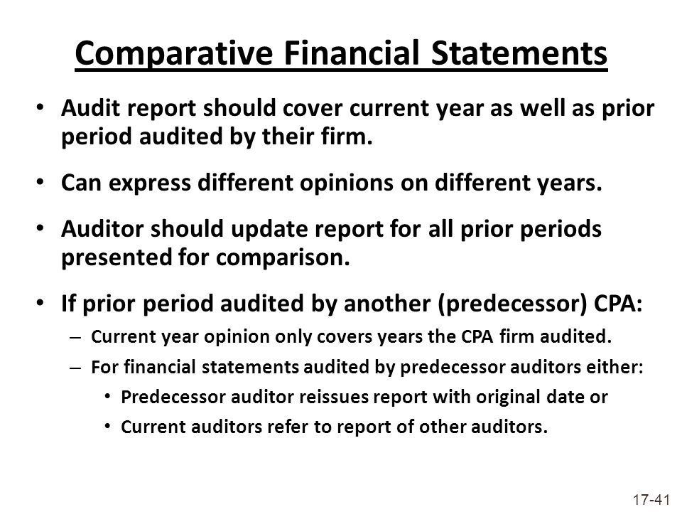 Audit Reports  Overview  ppt download
