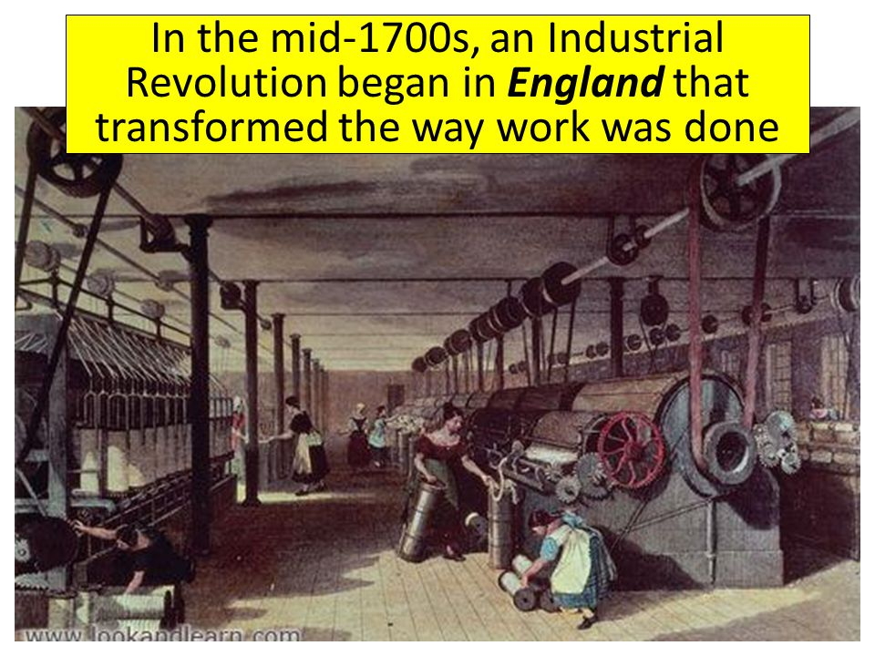 where does the industrial revolution began