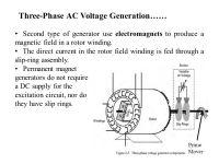 Three-Phase ac Voltage Generation - ppt video online download