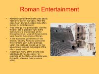 Ancient Rome -Early Rome -Famous Places of Rome - ppt download