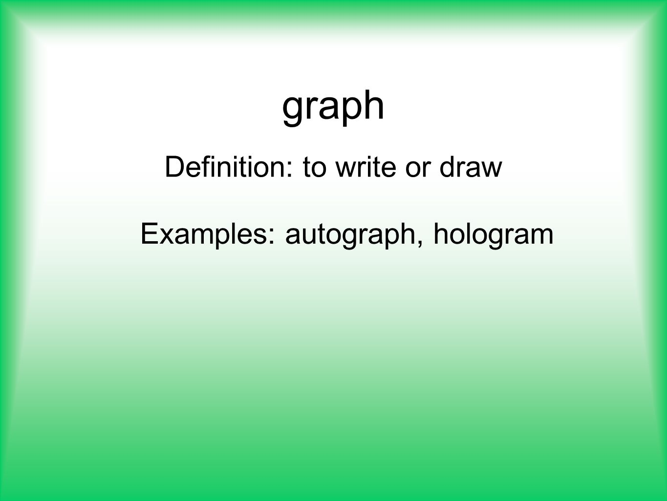 write or draw the meaning of a bar diagram 2 pole light switch wiring latin and greek root words ppt video online download