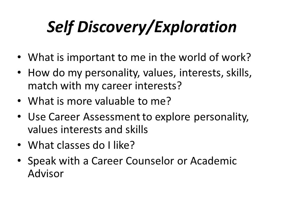 What Can I Do With My Major Exploring Career