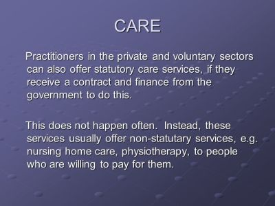 INDEPENDENT AND INFORMAL CARE PROVISION - ppt video online ...