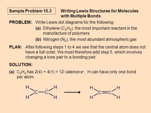 General Chemistry Chemistry 1A Ch 10: The Shapes of