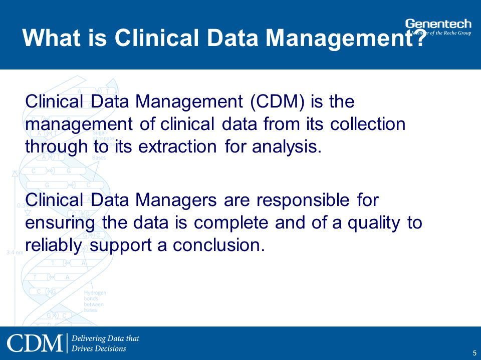 Using EDCRave to Conduct Clinical Trials at Genentech  ppt video online download