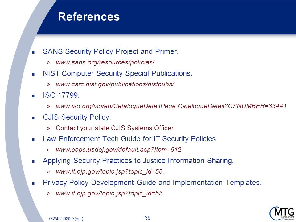 Sans Information Security Policy Templates